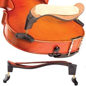 Mach One 3/4-4/4 Violin Shoulder Rest with Leather Comfort Strap